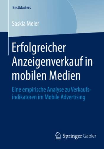 Erfolgreicher Anzeigenverkauf in mobilen Medien: Saskia Meier