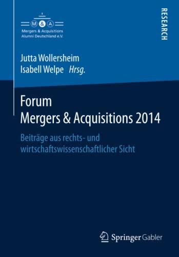 Forum Mergers & Acquisitions 2014: Jutta Stumpf-Wollersheim