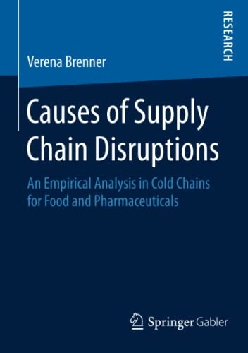 Causes of Supply Chain Disruptions: Verena Brenner