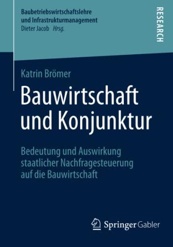Bauwirtschaft und Konjunktur: Katrin Br�mer