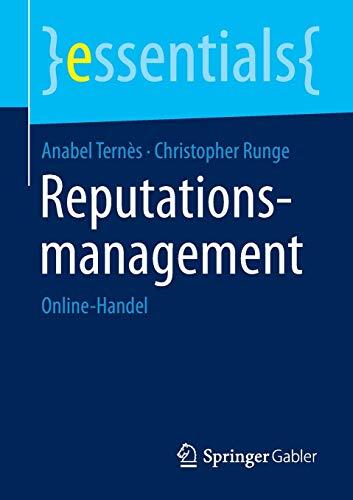9783658089573: Reputationsmanagement: Online-Handel (essentials) (German Edition)