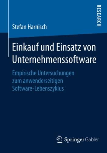 Einkauf und Einsatz von Unternehmenssoftware: Stefan Harnisch