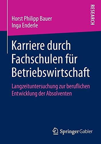 Karriere durch Fachschulen für Betriebswirtschaft: Horst Philipp Bauer