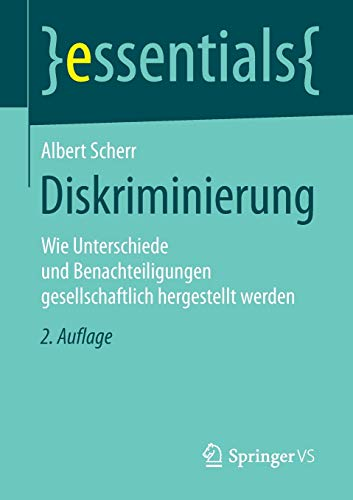 9783658100667: Diskriminierung (essentials)