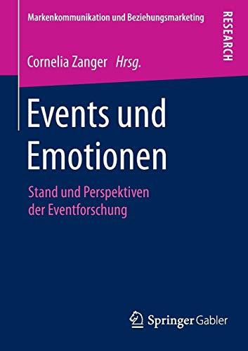 Events und Emotionen: Cornelia Zanger