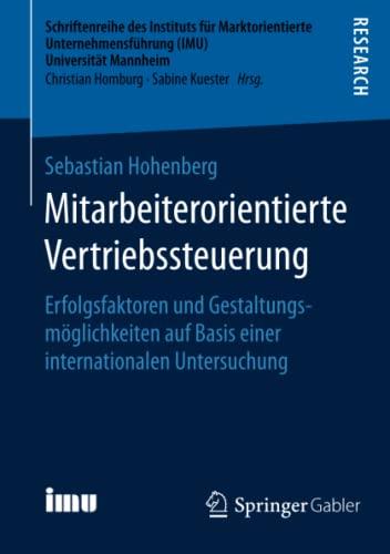 Mitarbeiterorientierte Vertriebssteuerung: Sebastian Hohenberg