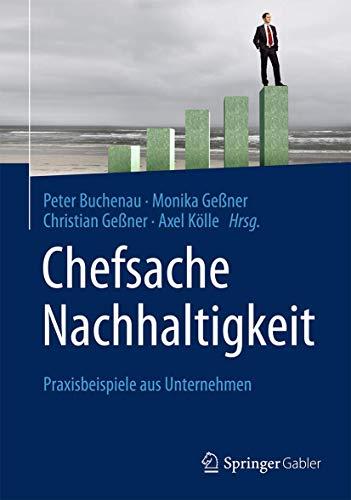 Chefsache Nachhaltigkeit: Peter Buchenau