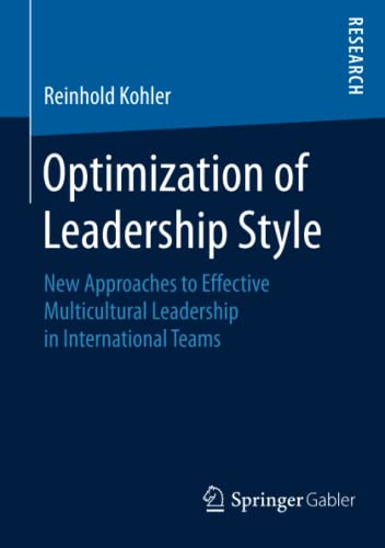 Optimization of Leadership Style: Reinhold Kohler