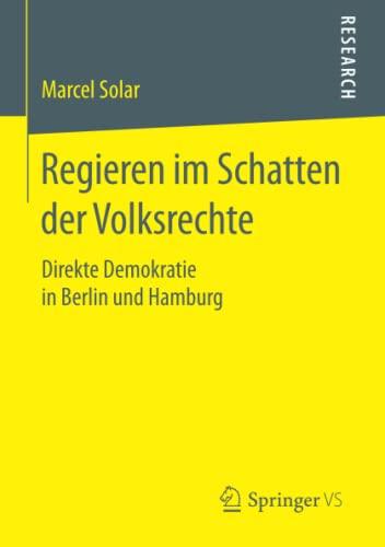 Regieren im Schatten der Volksrechte: Marcel Solar