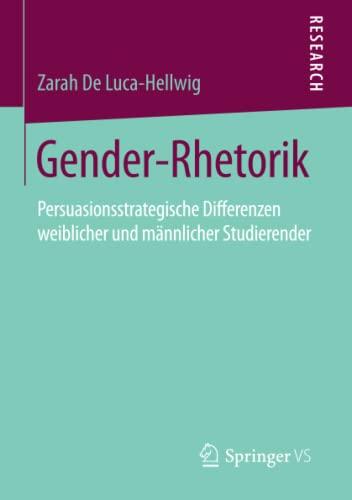 Gender-Rhetorik: Zarah De Luca-Hellwig