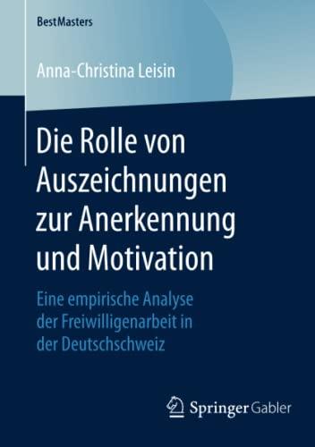 Die Rolle von Auszeichnungen zur Anerkennung und Motivation: Anna-Christina Leisin