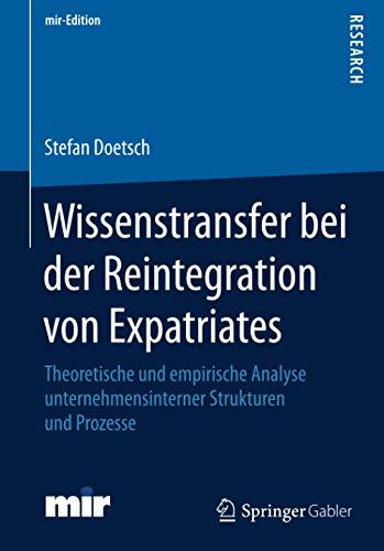 Wissenstransfer bei der Reintegration von Expatriates: Stefan Doetsch