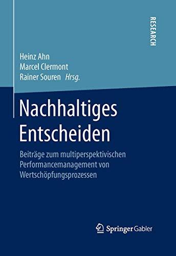 Nachhaltiges Entscheiden: Heinz Ahn