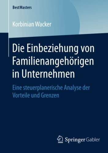 Die Einbeziehung von Familienangehörigen in Unternehmen: Korbinian Wacker