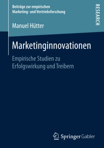 Marketinginnovationen: Manuel H�tter