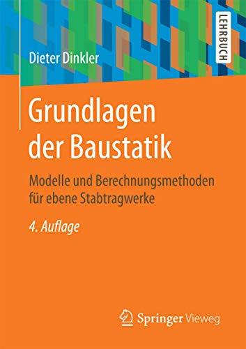 Statik grundlagen zvab for Baustatik grundlagen