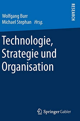 Technologie, Strategie Und Organisation (Hardback)