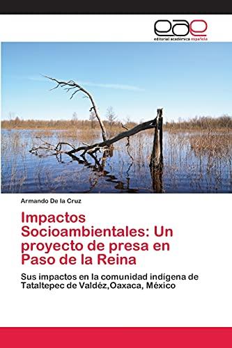 9783659002786: Impactos Socioambientales: Un proyecto de presa en Paso de la Reina: Sus impactos en la comunidad indígena de Tataltepec de Valdéz,Oaxaca, México (Spanish Edition)