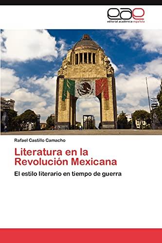 9783659006661: Literatura En La Revolucion Mexicana