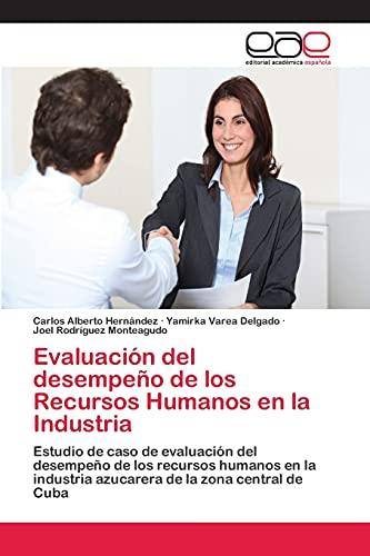 9783659007200: Evaluacion del Desempeno de Los Recursos Humanos En La Industria