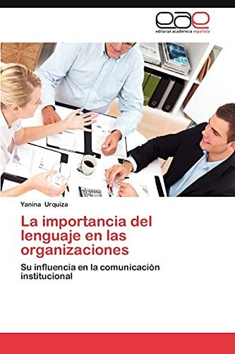 La Importancia del Lenguaje En Las Organizaciones: Yanina Urquiza