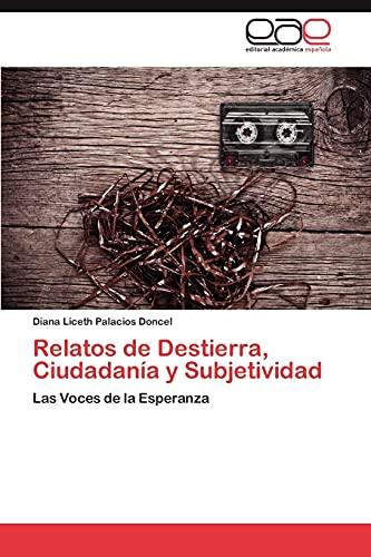 Relatos de Destierra, Ciudadania y Subjetividad: Diana Liceth Palacios Doncel