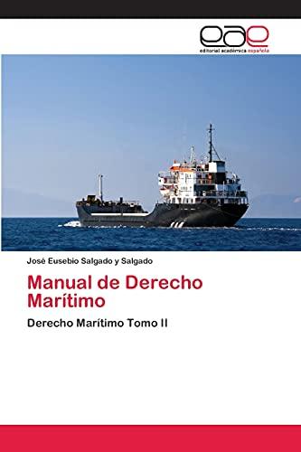 9783659010675: Manual de Derecho Maritimo