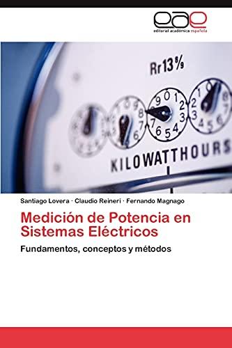 9783659012822: Medición de Potencia en Sistemas Eléctricos: Fundamentos, conceptos y métodos (Spanish Edition)