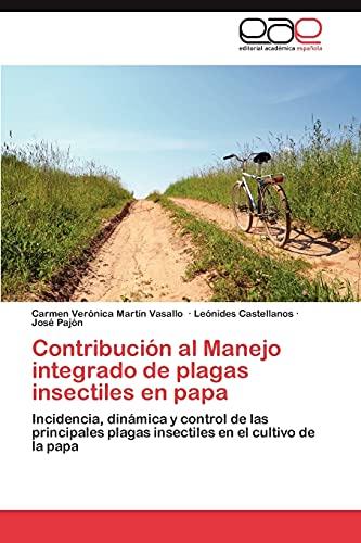 Contribución al Manejo integrado de plagas insectiles: Martín Vasallo, Carmen