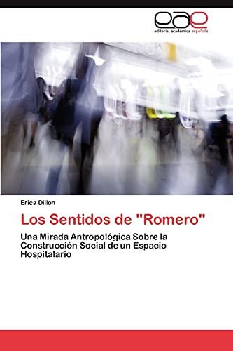 Los Sentidos de Romero: Erica Dillon