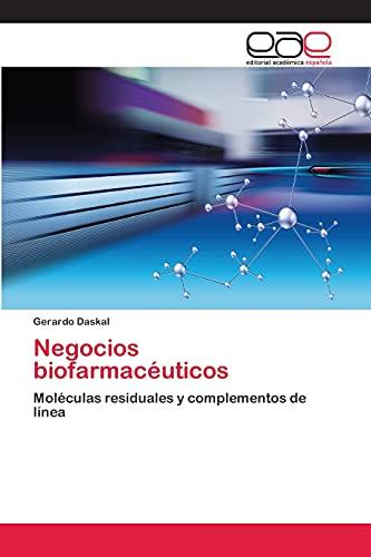 9783659016837: Negocios biofarmacéuticos (Spanish Edition)