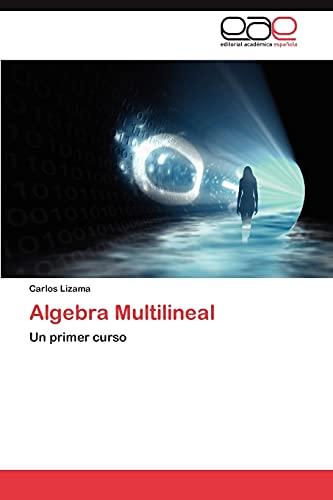9783659019159: Algebra Multilineal: Un primer curso (Spanish Edition)