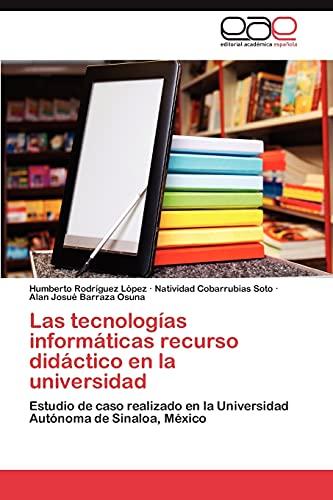 Tecnolog As Inform Ticas Recurso Did Ctico En La Universidad