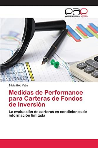 9783659021664: Medidas de Performance Para Carteras de Fondos de Inversion
