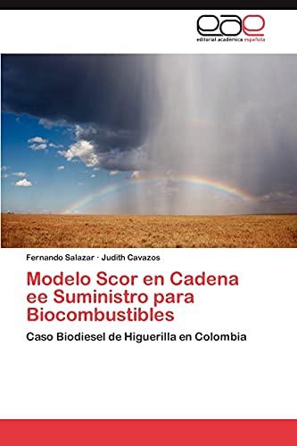 Modelo Scor en Cadena ee Suministro para Biocombustibles: Fernando Salazar