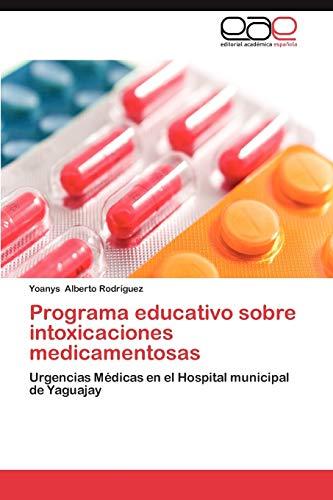 Programa Educativo Sobre Intoxicaciones Medicamentosas: Yoanys Alberto Rodr