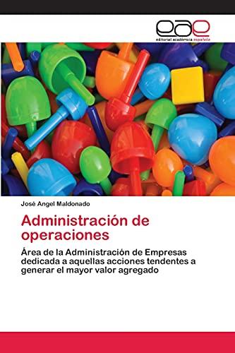 9783659027062: Administracion de Operaciones