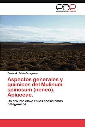 9783659033438: Aspectos generales y químicos del Mulinum spinosum (neneo), Apiaceae.: Un arbusto clave en los ecosistemas patagónicos. (Spanish Edition)
