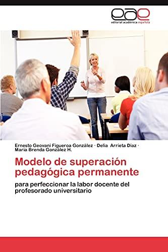 9783659034947: Modelo de Superacion Pedagogica Permanente
