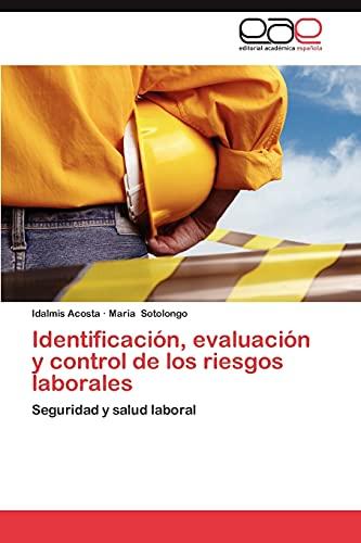 9783659036736: Identificacion, Evaluacion y Control de Los Riesgos Laborales