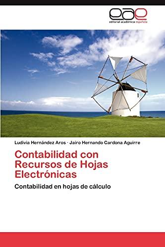 9783659036835: Contabilidad Con Recursos de Hojas Electronicas