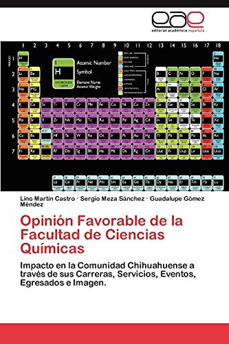 Opinión Favorable de la Facultad de Ciencias: Castro, Lino Martín;