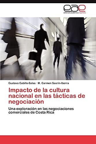 Impacto de La Cultura Nacional En Las Tacticas de Negociacion: Gustavo Cubillo-Salas