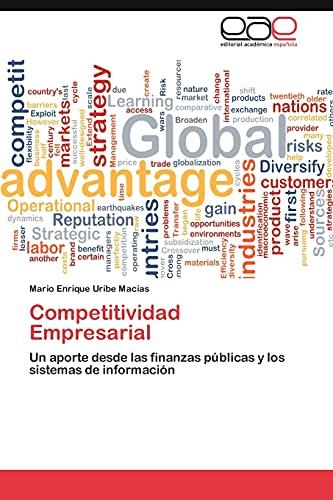 9783659042348: Competitividad Empresarial