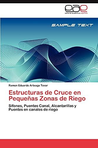 Estructuras de Cruce En Pequenas Zonas de Riego: Ramon Eduardo Arteaga Tovar