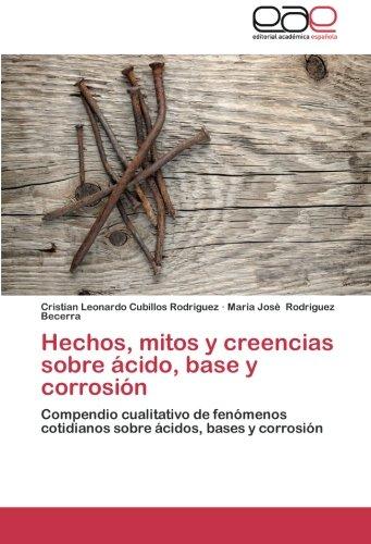 Hechos, mitos y creencias sobre ácido, base: Cubillos Rodriguez, Cristian