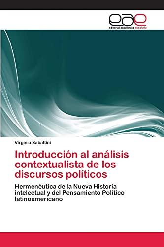 Introducci N Al an Lisis Contextualista De Los Discursos Pol Ticos