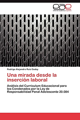 9783659046759: Una mirada desde la inserción laboral: Análisis del Currículum Educacional para los Condenados por la Ley de Responsabilidad Penal Adolescente 20.084 (Spanish Edition)