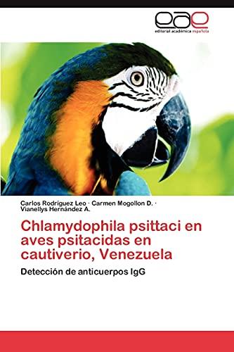 9783659048715: Chlamydophila Psittaci En Aves Psitacidas En Cautiverio, Venezuela