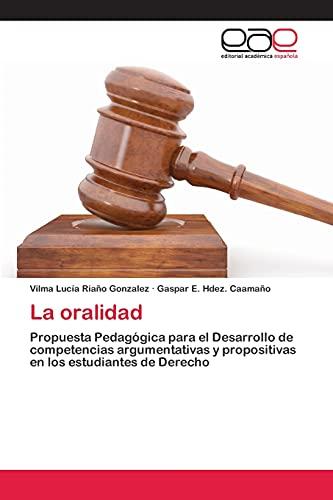 9783659051494: La Oralidad